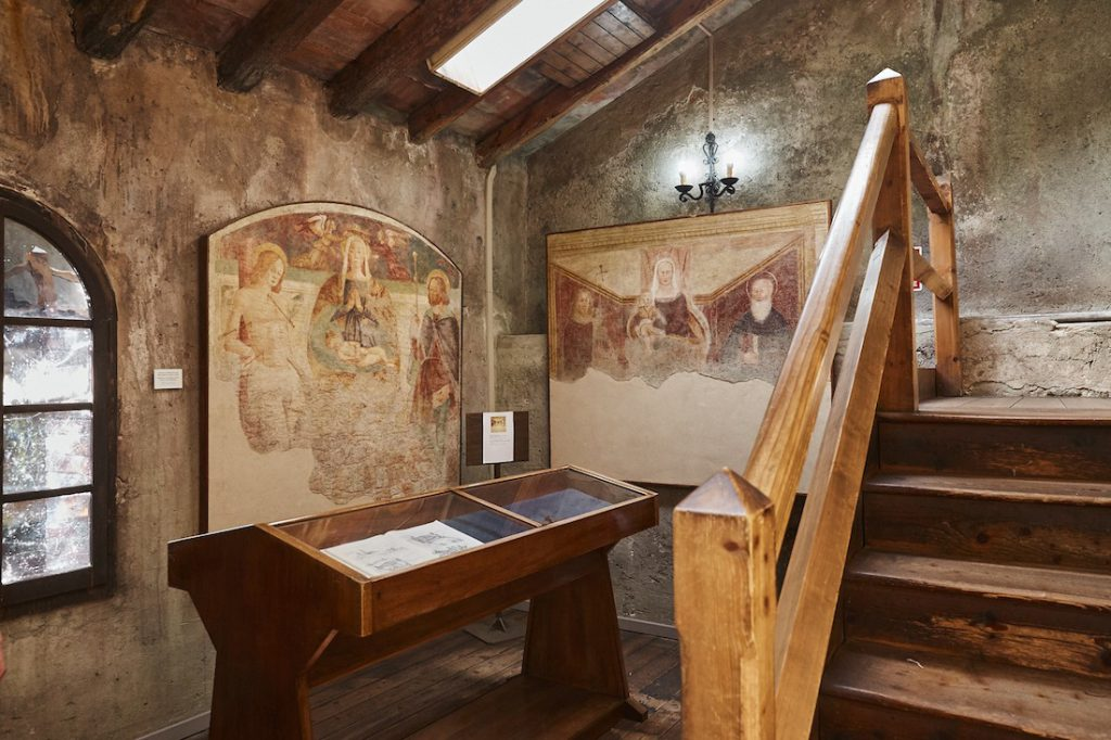 Opere interno torre del Castello di Conegliano