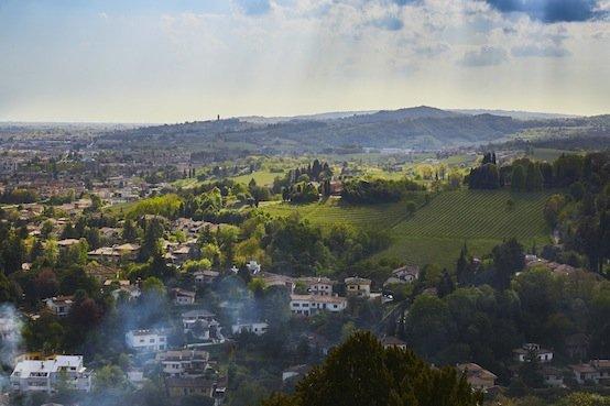 Veduta dal Castello di Conegliano