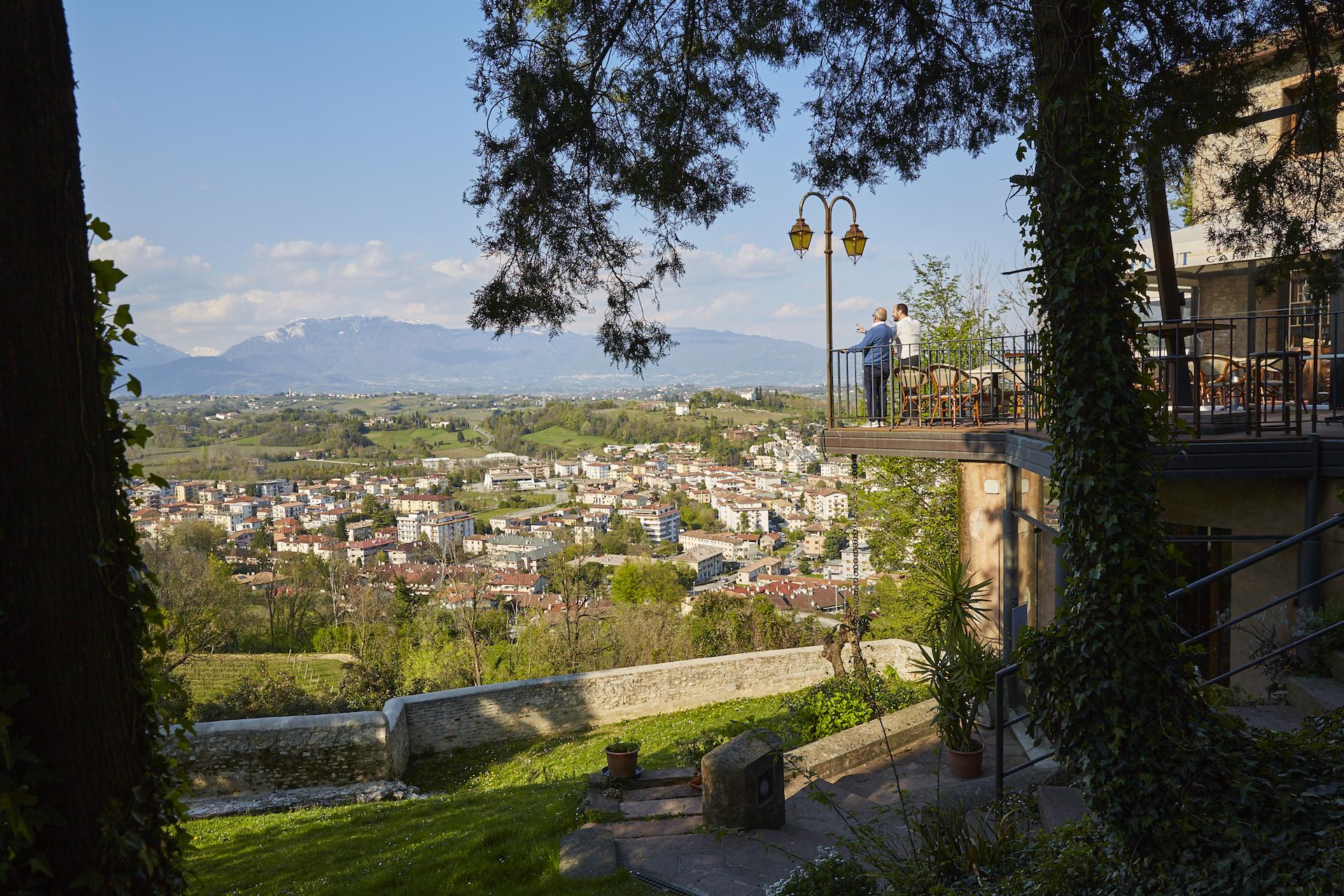panorama ristorante al castello conegliano