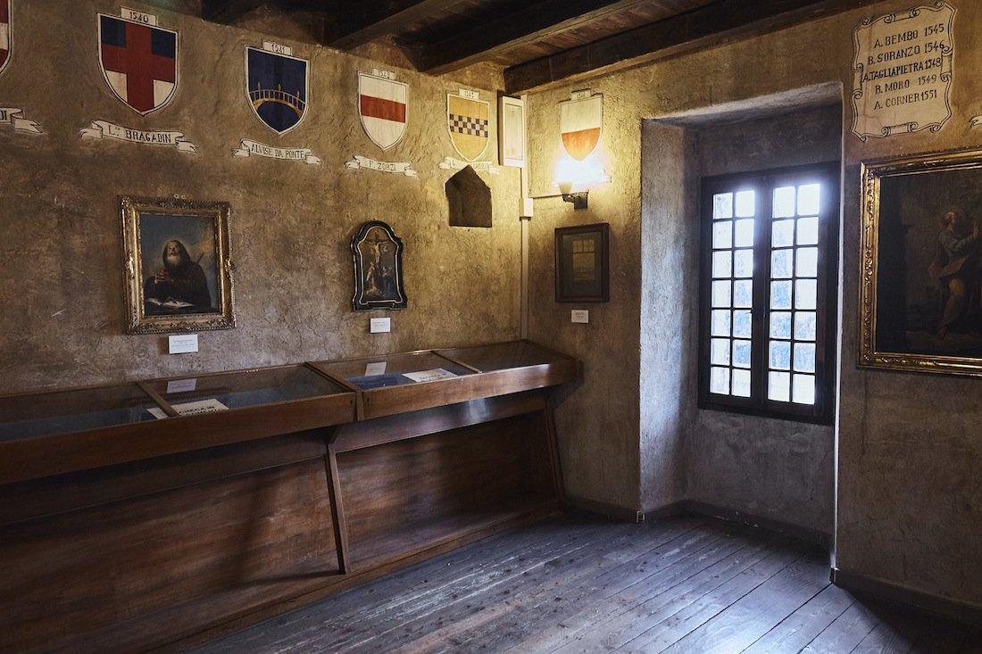 Interno del Museo Civico di Conegliano