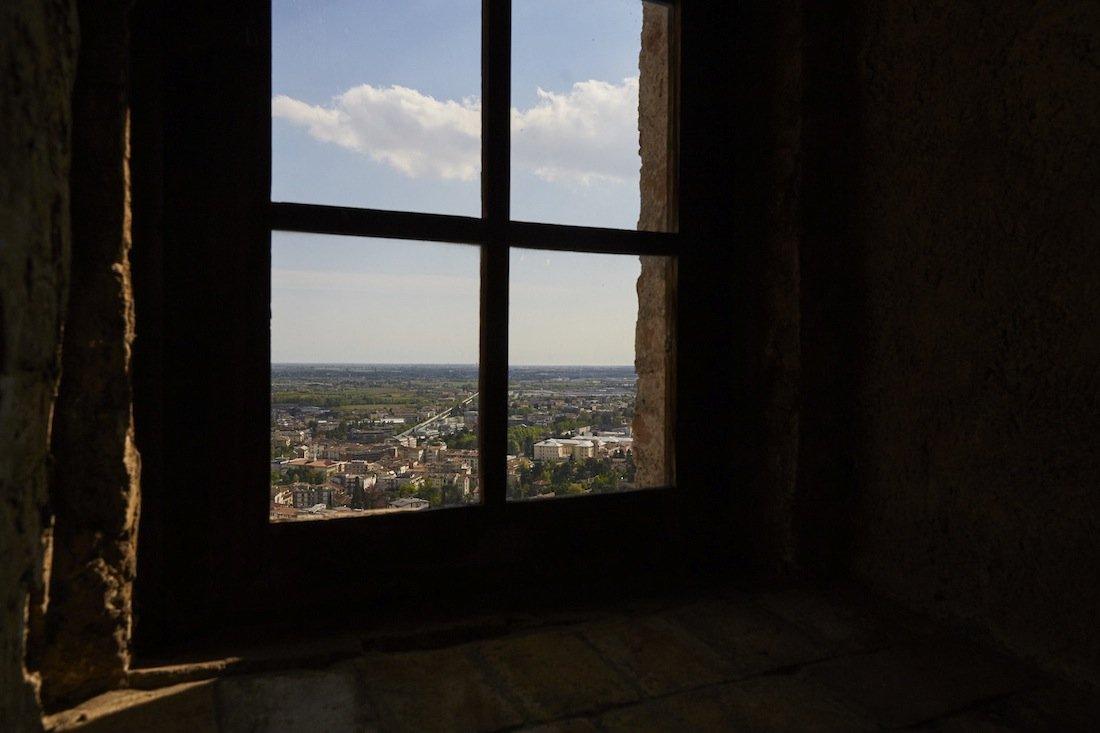 Veduda da finestra del Museo Civico di Conegliano