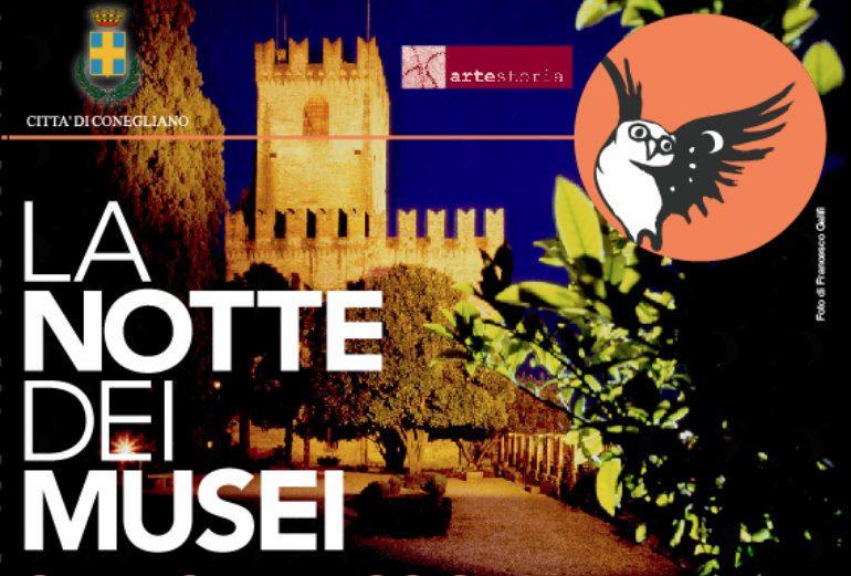 notte dei musei al castello di conegliano