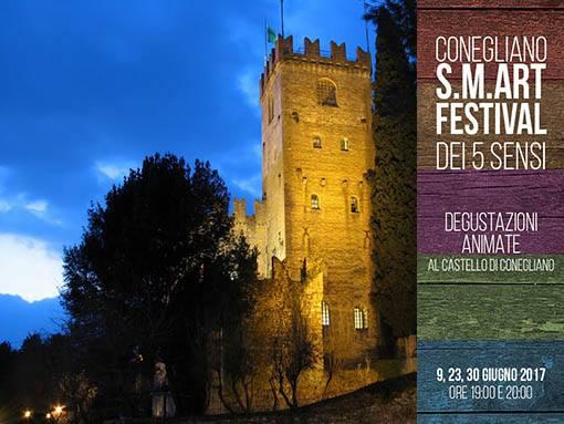 Degustazioni animate al Castello di Conegliano - Festival dei 5 sensi