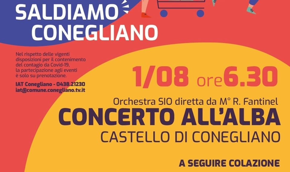 concerto all'alba al castello