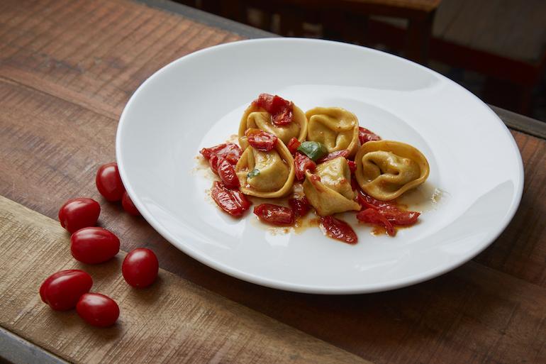 Cappellaci e pomodorini - Menu estate - ristorante al castello - Conegliano